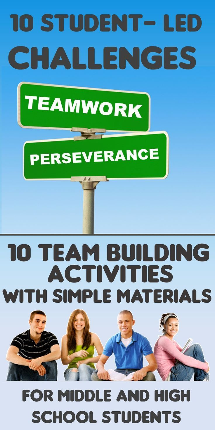 10 team building challenges for middle and high school students