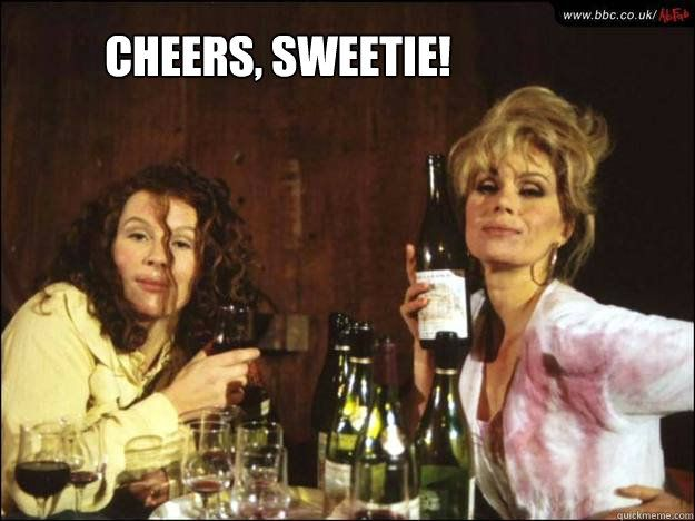 Edina & Patsy from AbFab. <3