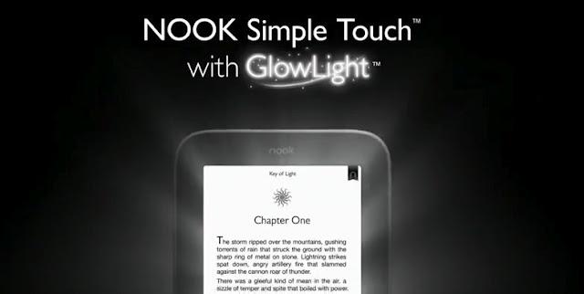 Barnes & Noble vient d'officialiser sa nouvelle liseuse électronique Nook Simple Touch