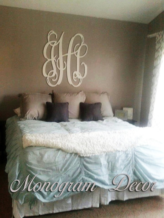 Bedrooms  Cas and Monogram wall letters  on Pinterest