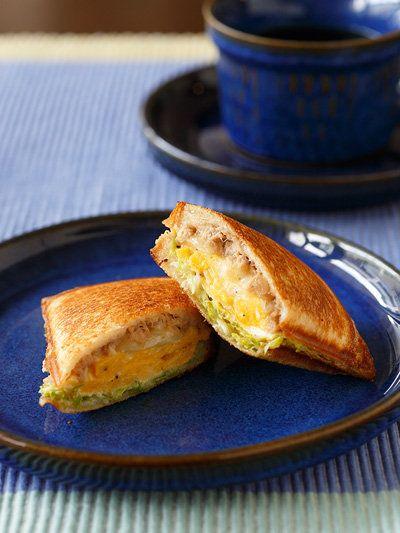 Recipe : Tuna Melt Sandwich/ブレックファースト ホットサンド