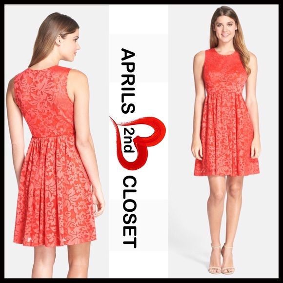 """❗️1-HOUR SALE❗️A Line Slip Dress Fit-And-Flare 💟NEW WITH TAGS💟  RETAIL PRICE: $148  Plenty by Tracy Reese Short Shift Dress eyelet A-line    * Fit-and-flare style w/back zip closure   * Floral embroidery eyelet crochet ;Lined   * Semi-flared skirt  * Measure about 38"""" long;Tagged size 10 (M)  * Scoop neck front  * Vintage style Fabric:50% Nylon & 50% Polyester Color: Begonia Item#B93500 shirt dress shift sheath 🚫No Trades🚫 ✅ Offers Considered*/Bundle Discounts✅ *Please use the 'offer'…"""