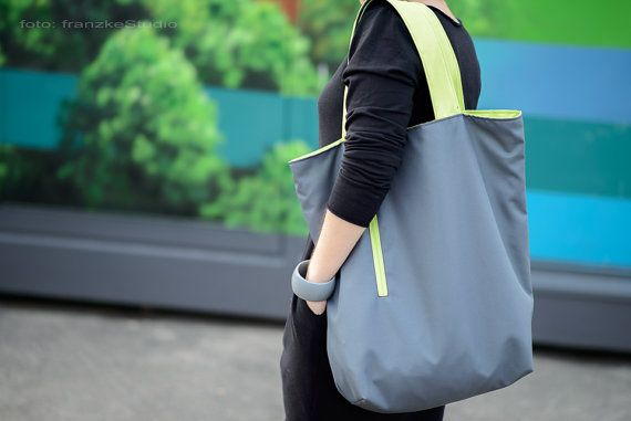 Double sided bag waterproof shopper bag two-sided tote by bandabag