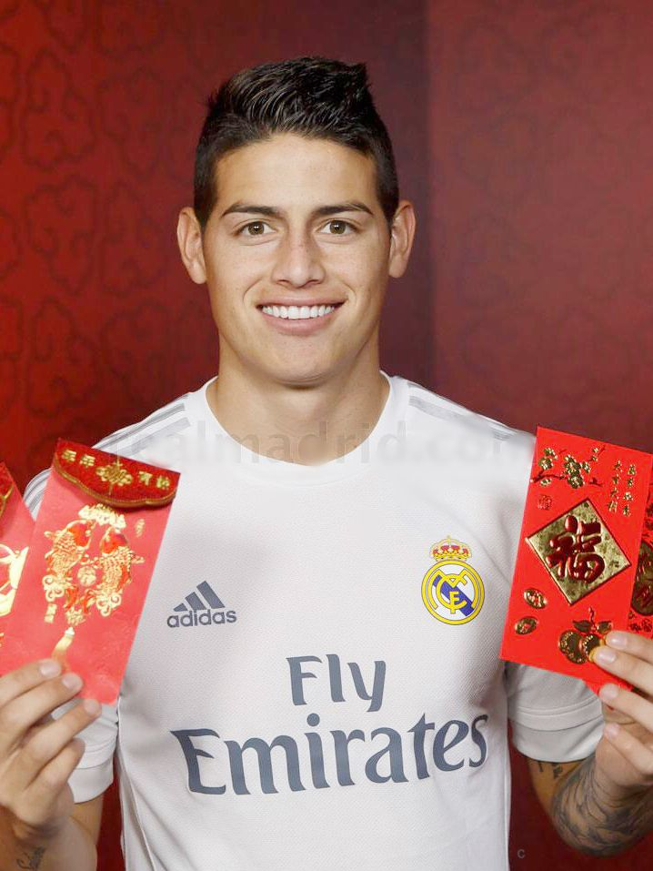 James Rodriguez Real Madrid Año Chino 2016
