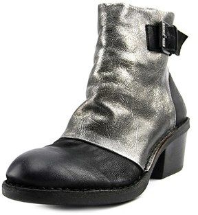 Fly London Dape Round Toe Leather Ankle Boot.