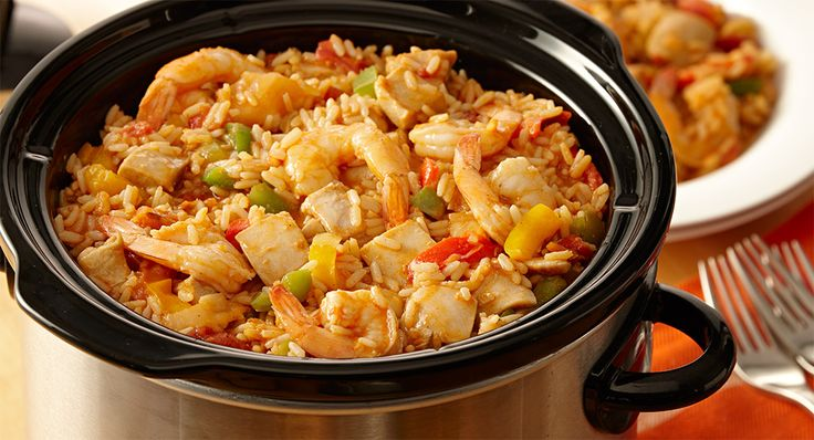 Want jambalaya tonight but don't have the time? Let your slow cooker do the work.