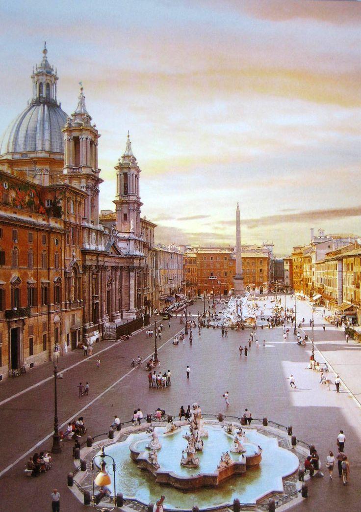 """eccellenze-italiane: """"Piazza Navona, Roma """""""