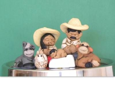 """Nativity Set Peruvian 1 5"""" Holy Family Nativity Scene   eBay"""