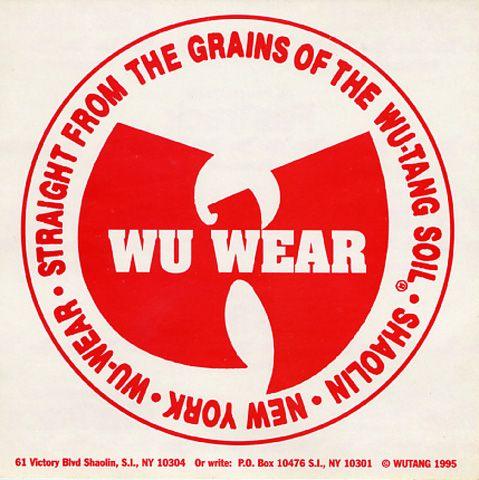 Wu-Wear #WuTang #WuWear