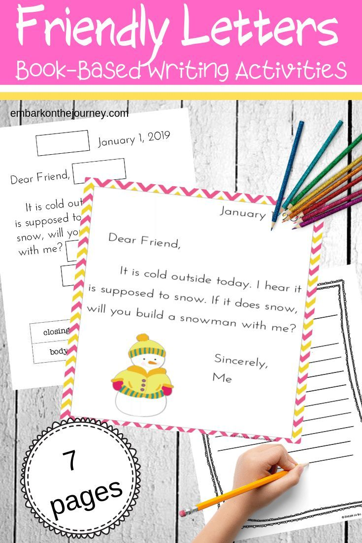 Resources For How To Write A Friendly Letter For Kids Friendly Letter Writing Letter Writing For Kids Friendly Letter