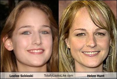 Leelee Sobieski Totally Looks Like Helen Hunt Helen Hunt