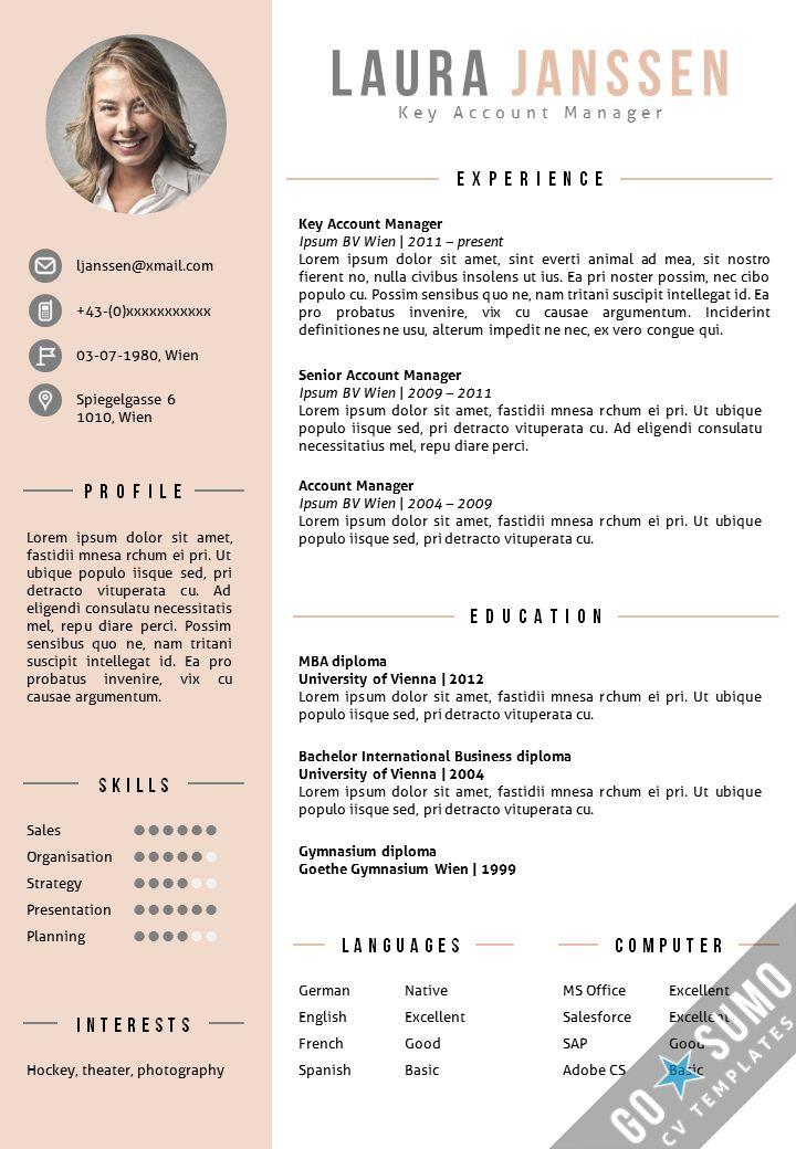 free resume cv templates datariouruguay