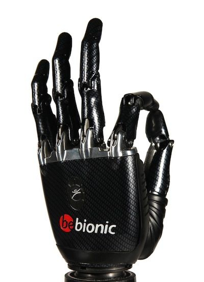 """prosthetic hand technologies For more information about these new and innovative prosthetic technologies, contact lti at 800-437-0024 new small bebionic hand the new small (7¼"""") bebionic hand (on left) has been released."""