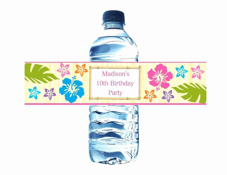 Avery Labels For Water Bottles New Best 13 Seth Avery Shower Images On Pinte Printable Water Bottle Labels Water Bottle Labels Template Diy Water Bottle Labels
