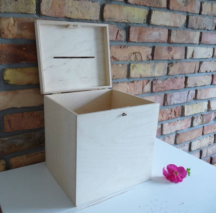 Large Wedding Wooden Card box with Slot  | Wood Wedding Card Box with key | Wedding Money Box | Wedding Box for Cards I Guest Card Container by nkcraftstudio on Etsy