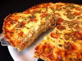Cocinando con Lola García: Tarta de verdura y queso fresco