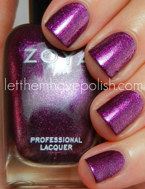*Zoya - Carly (Surf Collection Summer 2012) / Let Them Have Polish!