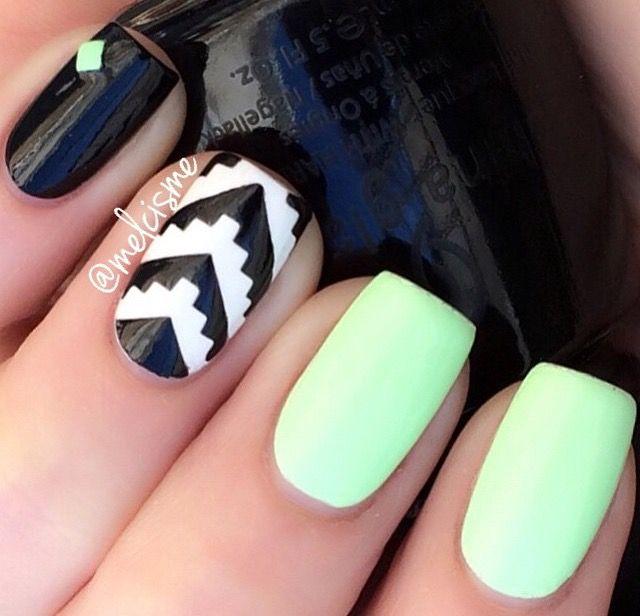 Mejores 129 imágenes de Nails en Pinterest   Uñas bonitas, Arte de ...
