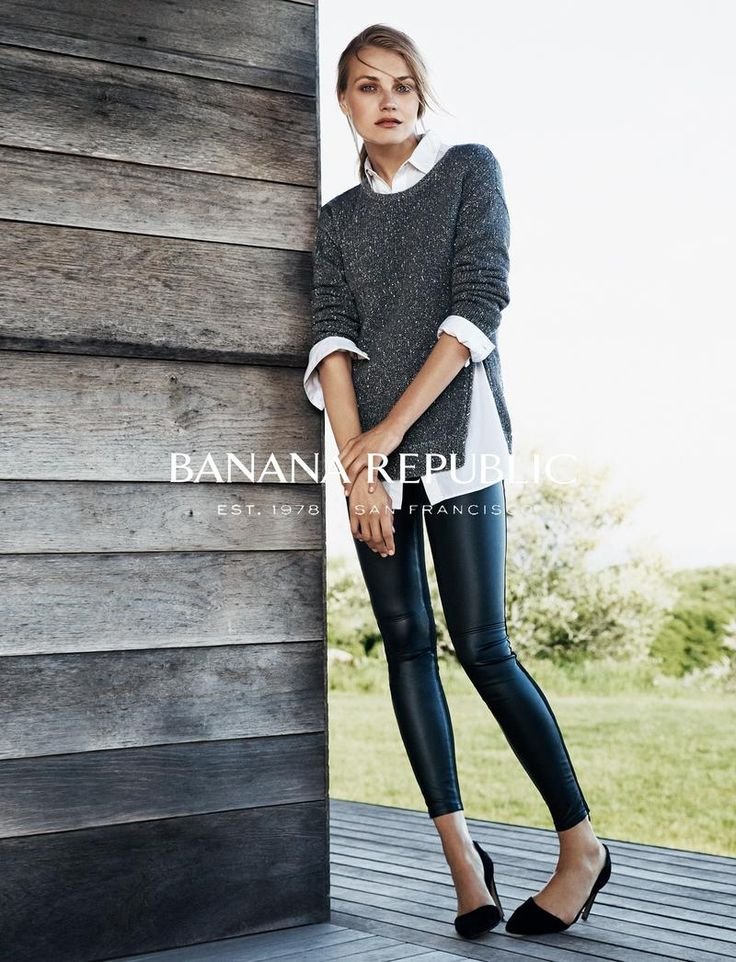 Banana Republic - Banana Republic Fall 2014: loving all the textures and colors!