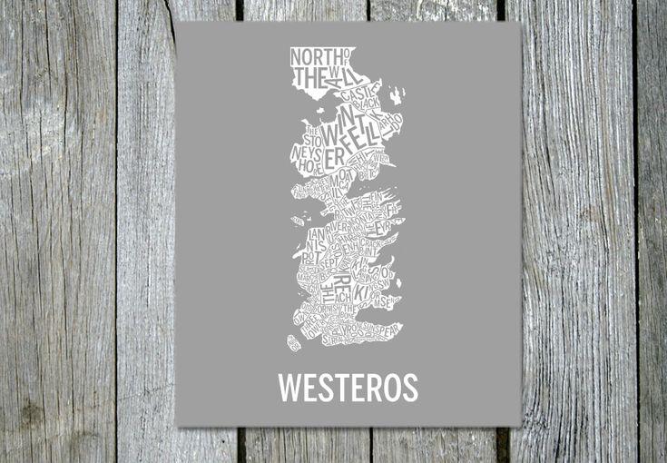 Westeros på väggen