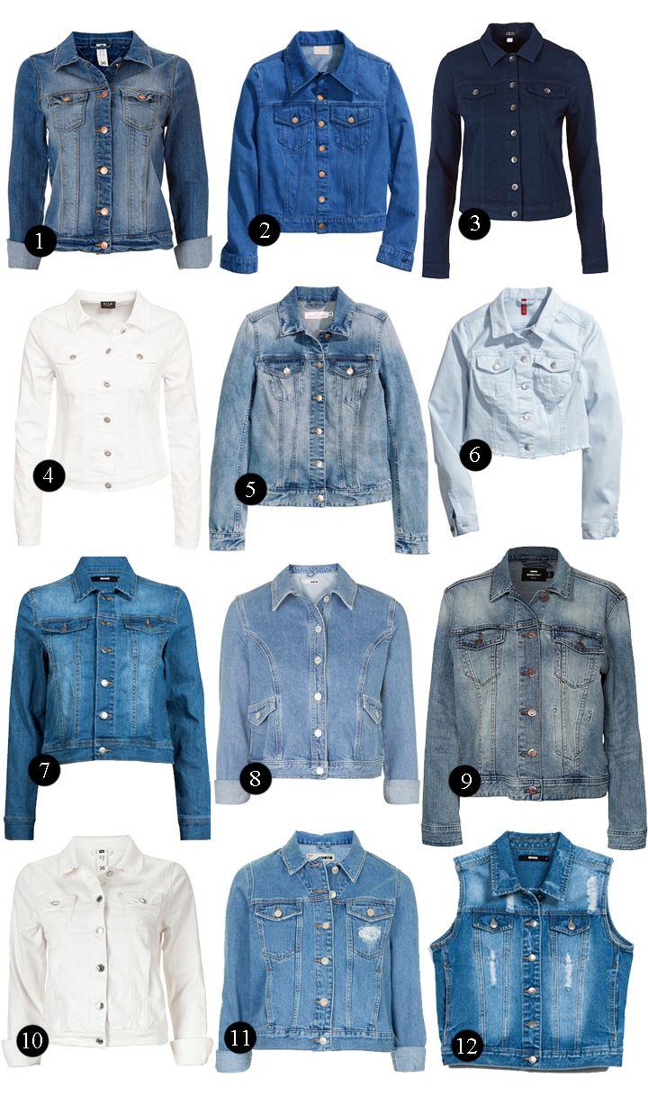 Denim jackets, denim, jeans jackets, jeansjackor