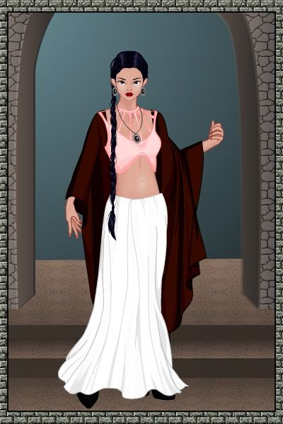 Pretty Girl Rises Betimes by SaralynArati ~ Disney Dress Up