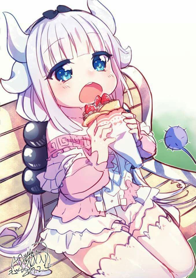 Anime Art | Kobayashi's Dragon Maid | Kanna