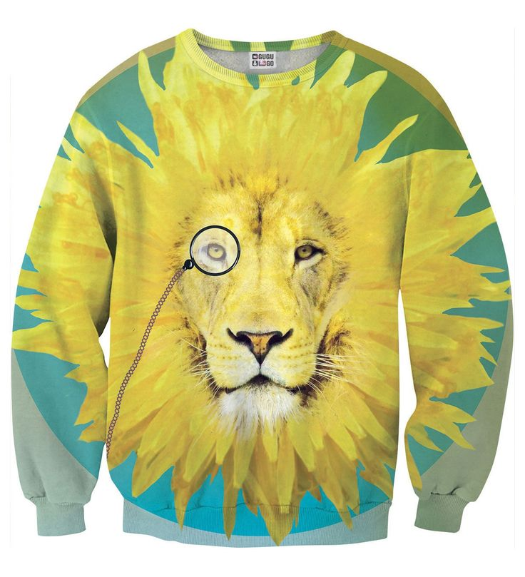 Dandy Lion1 sweater, Mr. GUGU & Miss GO