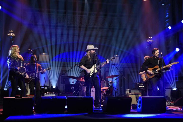 """""""Tonight we've got some extra Kentucky in NYC,"""" musical guest Stapleton tweeted before the show, sending fans into a frenzy about the collaboration."""