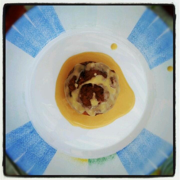 Muffin salato e fonduta