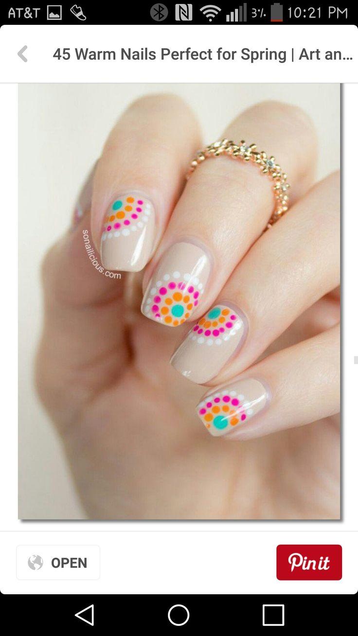 266 besten Nails Bilder auf Pinterest | Nageldesign, Nagelkunst und ...