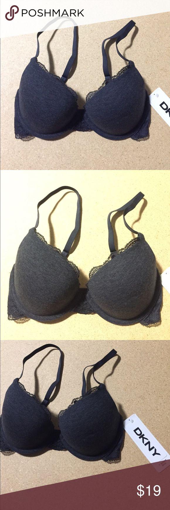 🌟Final Sale🌟DKNY Grey T-shirt bra. 30D New with tags Dkny Intimates & Sleepwear Bras