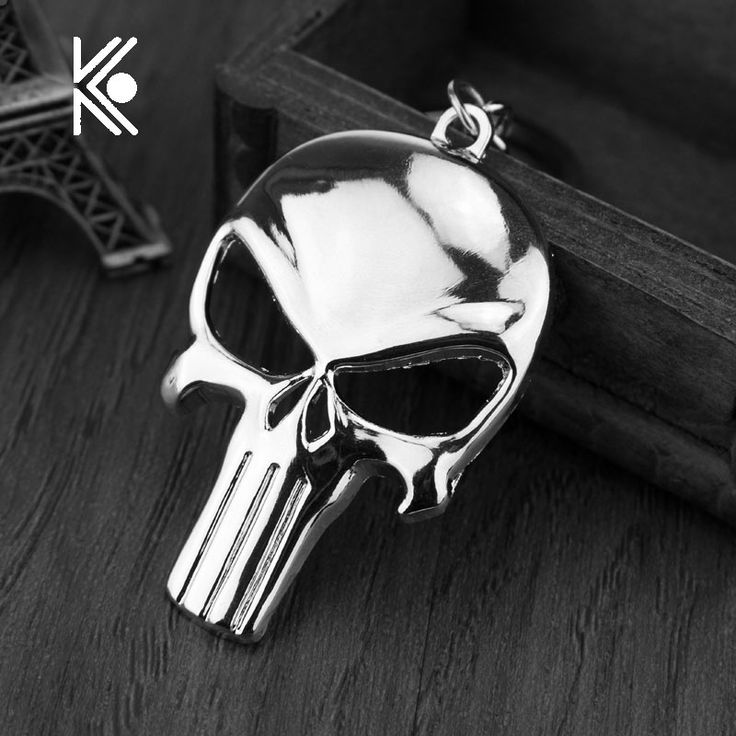 Cool Punisher Skull Bottle Opener Keychain Bar Beer Wine Tool Mask Key Chain Ring Keyring Jewelry Gift Souvenirs Free Shipping  #Affiliate