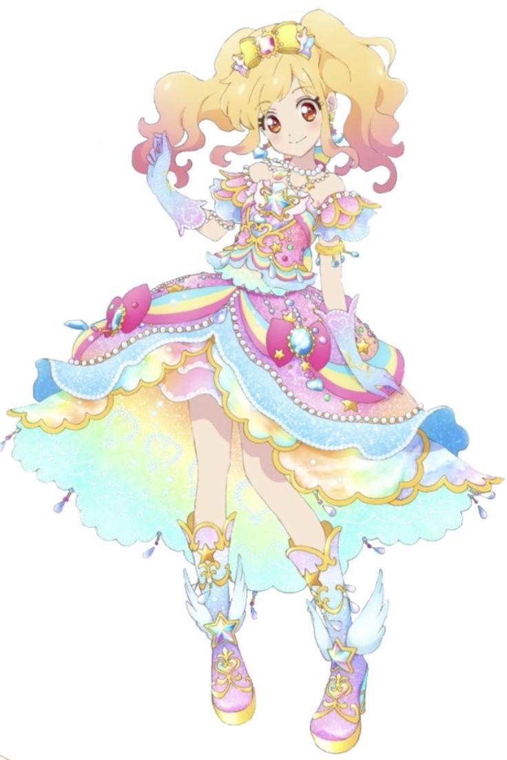 Aikatsu Stars! Nijino Yume's Rainbow Etoile Cord | Anime, Thiết kế nhân vật, Phim hoạt hình