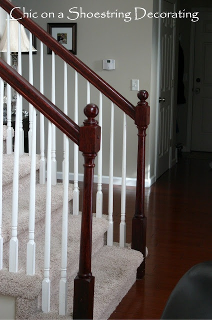 Need to refinish banister
