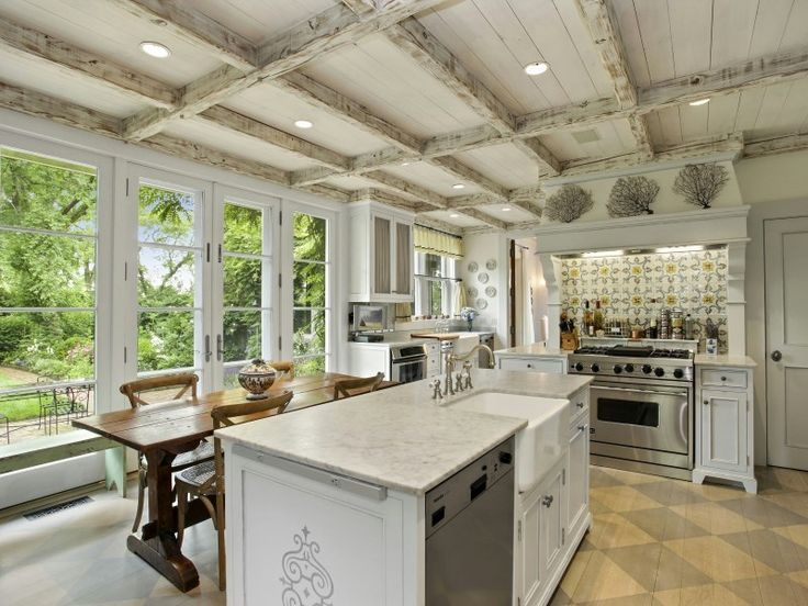Repin if you would cook a delicious meal in this kitchen!