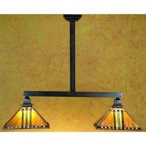 craftsman style lighting for pool table | More Pool Table Lights