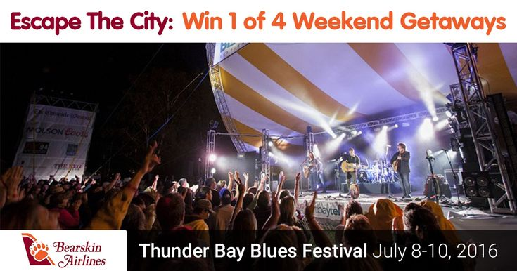 Enter to WIN the Thunder Bay Blues Festival Getaway