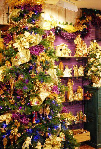 182 best Purple Christmas images on Pinterest | Purple christmas ...