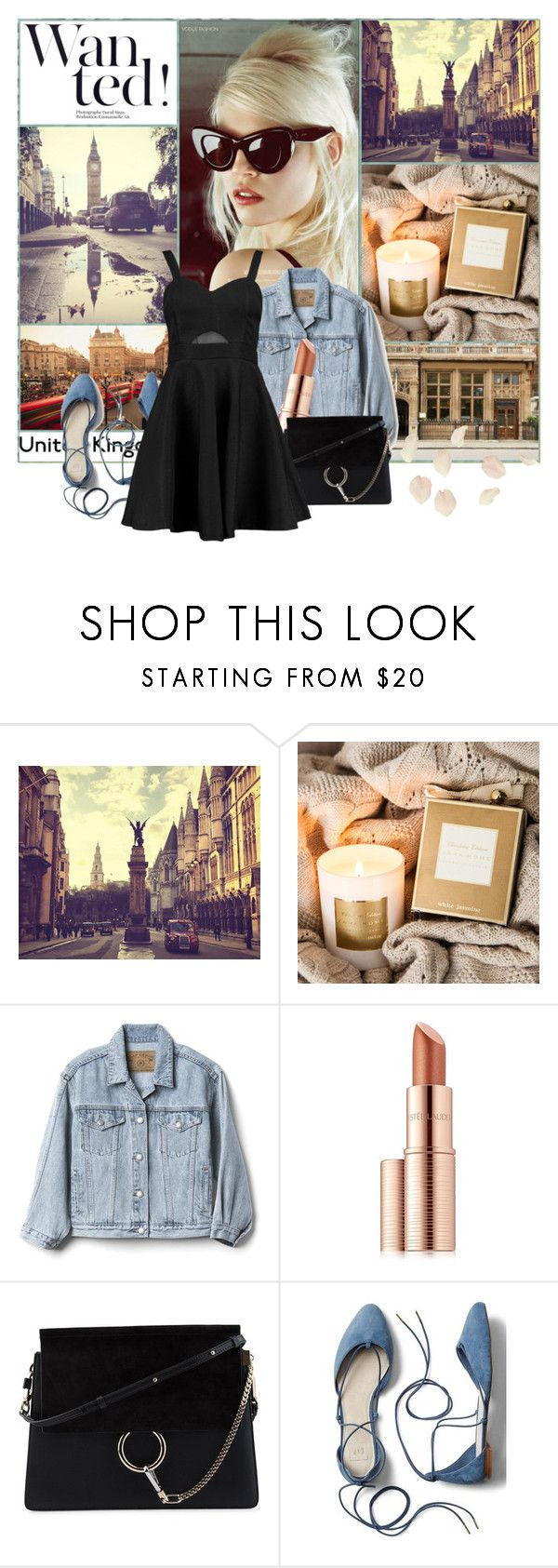 """""""London: Wanted!"""" by lysianna ❤ liked on Polyvore featuring TAXI, Zara Home, Gap, Estée Lauder, Chloé and Boohoo"""