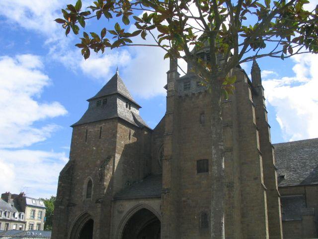 La cathédrale Saint-Etienne, à Saint-Brieuc