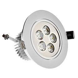 adjustable 5w led recessed ceiling spotlight down light lampdriver kit 12v