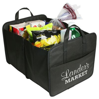 Be a part of minimizing waste with our trunk cargo organizer. Put your brand on it here: