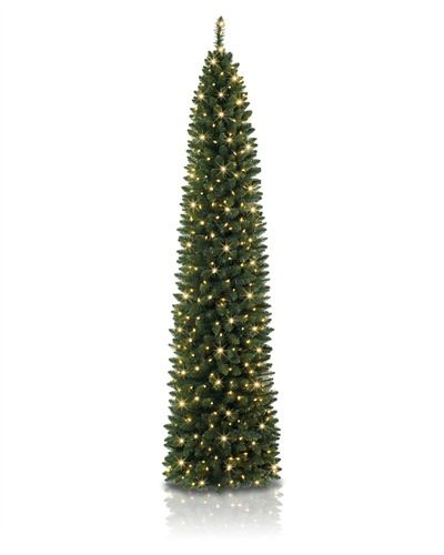Great for small spaces @Treetopia Artificial Christmas Trees - No. 2 Pencil Christmas Tree #PencilTree