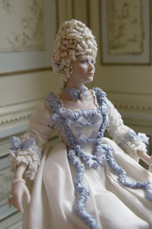 #Miniature Marie Antoinette