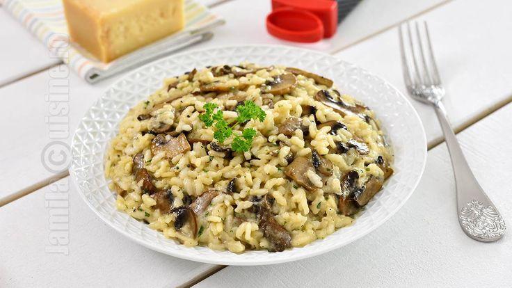 Risotto cu ciuperci | Mushroom Risotto (CC Eng Sub) | JamilaCuisine