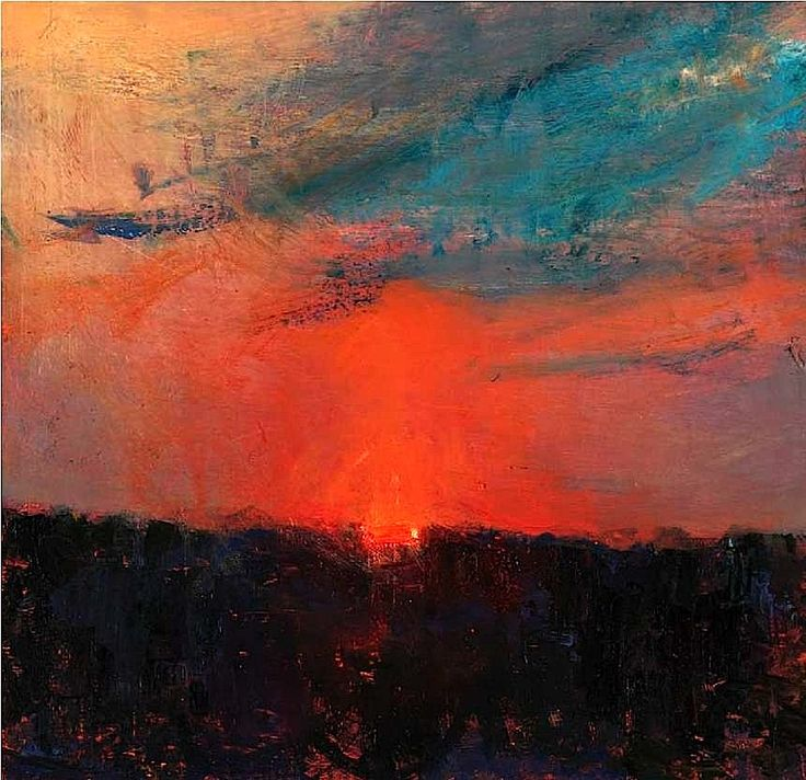 Fontaine Evening XI Oil on board - Andrew Gifford    from Merita Stewart