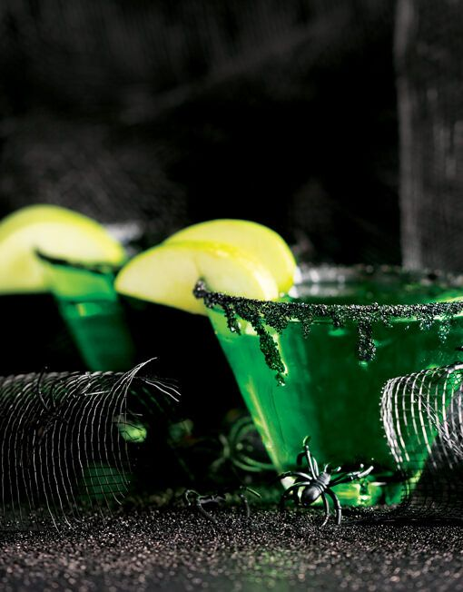 Our Demon Dust Sweet Black Rimming Sugar transforms any drink into a fun, Halloween-themed beverage in minutes.