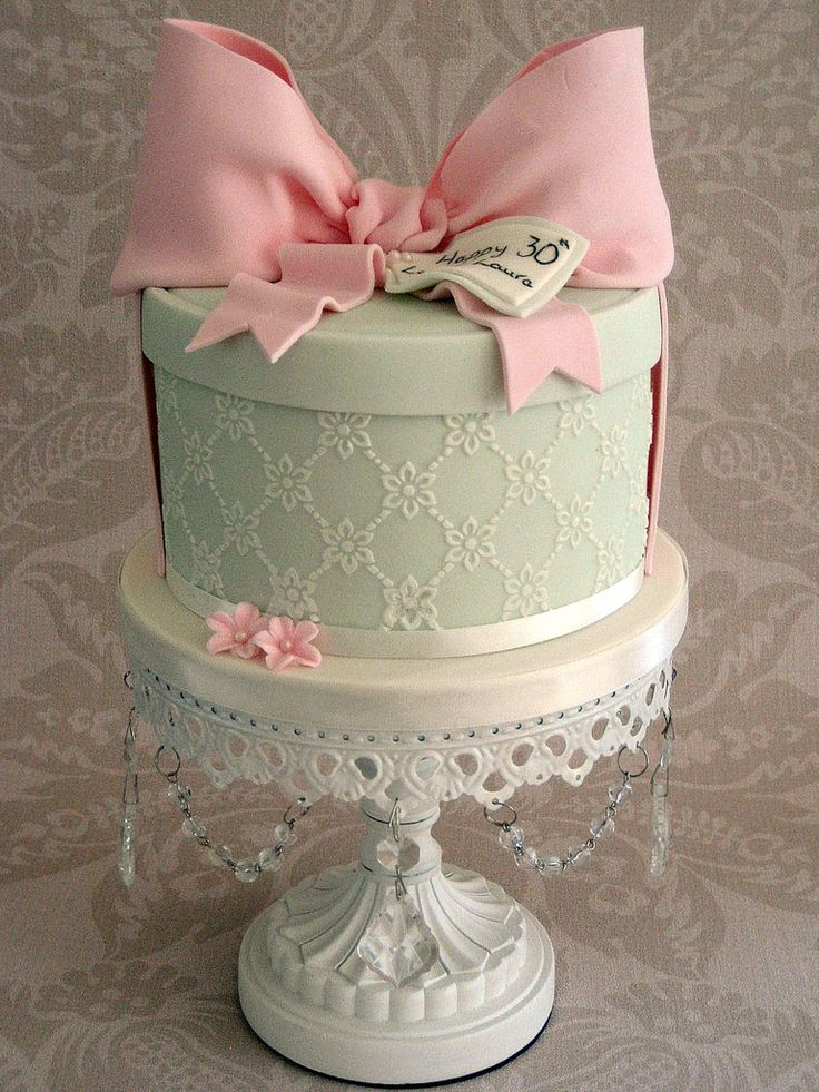Pretty Birdhay cake
