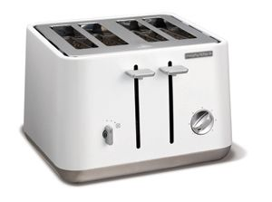 White Aspect 4 Slice Toaster